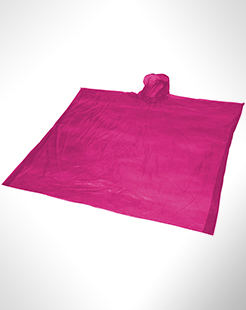 Ziva Disposable Rain Poncho With Storage Pouch thumbnail
