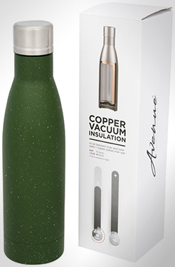 Vasa Speckled Copper Vacuum Insulated Bottle thumbnail