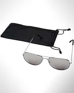 Aviator Sunglasses With Coloured Mirrored Lenses thumbnail