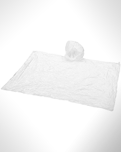 Huko Disposable Rain Poncho With Pouch thumbnail