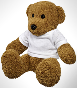 Shrex Large Plush Rag Teddy Bear With Shirt thumbnail