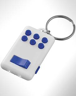 Flip-And-Click Anti-Stress Led Light Keychain thumbnail