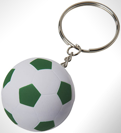 Striker Football Keychain thumbnail