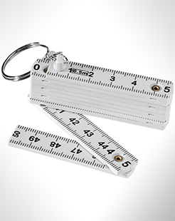 Harvey 0.5 Metre Foldable Ruler Keychain thumbnail