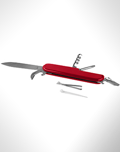 Emmy 9-Function Pocket Knife With Keychain thumbnail