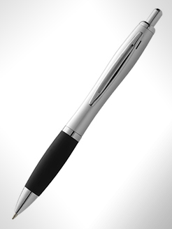Mandarine Ballpoint Pen With Soft-Touch Grip thumbnail