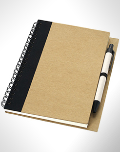 Priestly Recycled Notebook With Pen thumbnail