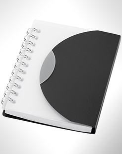 Post Spiral A7 Notebook With Blank Pages thumbnail