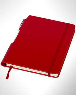 Panama A5 Hard Cover Notebook With Pen thumbnail