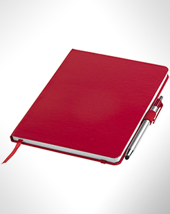 Crown A5 Notebook With Stylus Ballpoint Pen thumbnail