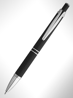 Jewel Ballpoint Pen With Knurled Grip thumbnail