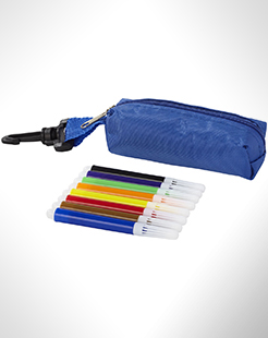 Bolt 8-Piece Coloured Marker Set With Pouch thumbnail