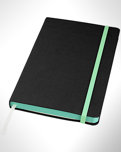 Frappe-Fabric A5 Hard Cover Notebook thumbnail