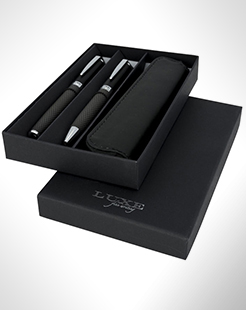 Carbon Duo Pen Gift Set With Pouch thumbnail