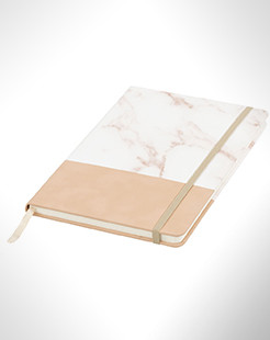 Two-Tone A5 Marble Look Notebook thumbnail