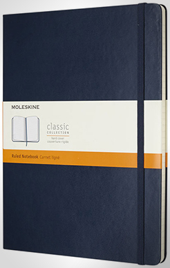 Classic Xl Hard Cover Notebook - Ruled thumbnail