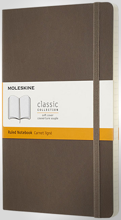 Classic L Soft Cover Notebook - Ruled thumbnail