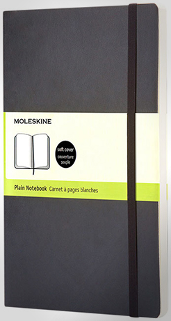 Classic L Soft Cover Notebook - Plain thumbnail