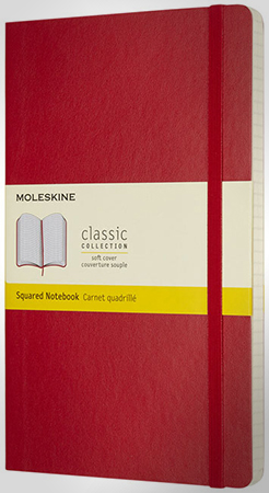 Classic L Soft Cover Notebook - Squared thumbnail