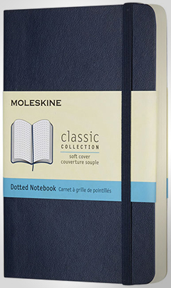 Classic Pk Soft Cover Notebook - Dotted thumbnail