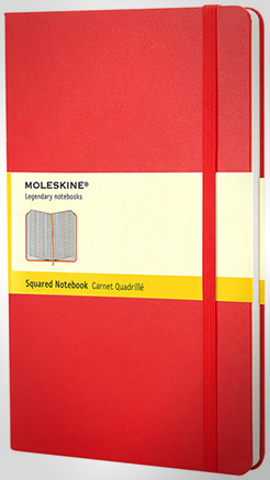Classic Pk Hard Cover Notebook - Squared thumbnail