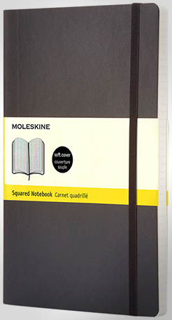 Classic Pk Soft Cover Notebook - Squared thumbnail