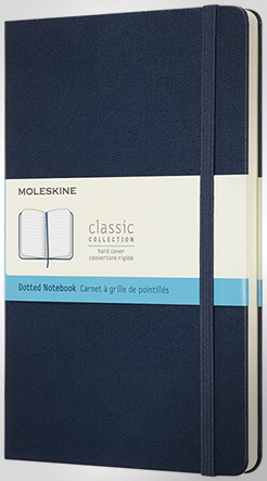 Classic L Hard Cover Notebook - Dotted thumbnail