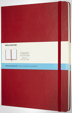 Classic Xl Hard Cover Notebook - Dotted thumbnail