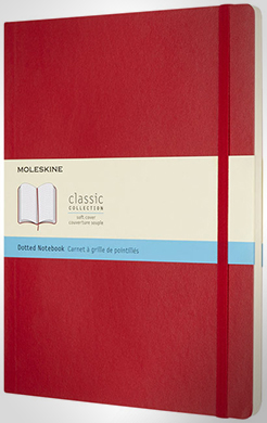Classic Xl Soft Cover Notebook - Dotted thumbnail