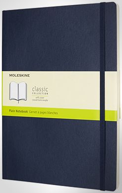 Classic Xl Soft Cover Notebook - Plain thumbnail