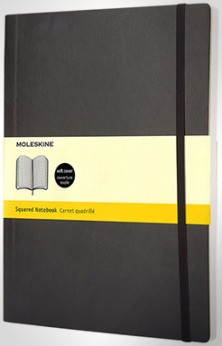 Classic Xl Soft Cover Notebook - Squared thumbnail