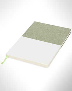 Two-Tone A5 Canvas Notebook thumbnail