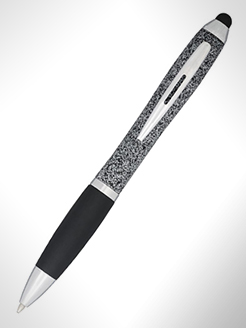 Nash Speckled Ballpoint Pen With Stylus thumbnail