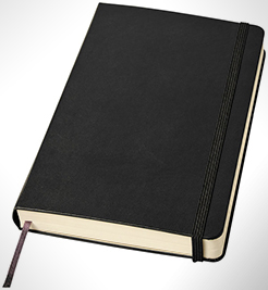 Classic Expanded L Hard Cover Notebook - Ruled thumbnail