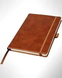 Coda A5 Leather Look Hard Cover Notebook thumbnail
