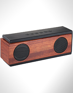 Native Wooden Bluetooth Speaker thumbnail