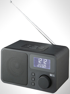 Dab Deluxe Radio With Fm Tuner thumbnail
