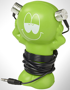 Best Friend Earbuds With Amusing Coiling Stand thumbnail