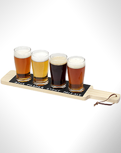 Cheers Beverage Flight Serving Tray thumbnail