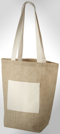Calcutta Tote Bag Made From Jute thumbnail