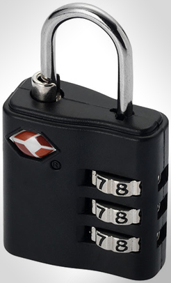 Kingsford Tsa-Compliant Luggage Lock thumbnail