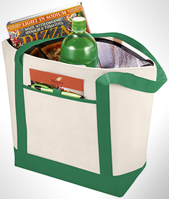 Lighthouse Non-Woven Cooler Tote thumbnail