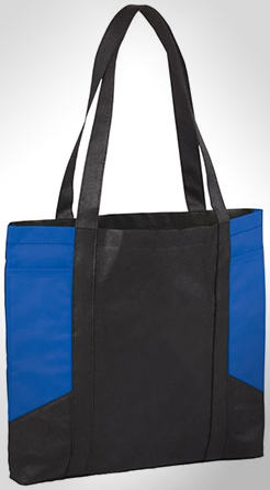 Joey Coloured Panel Tote Bag thumbnail