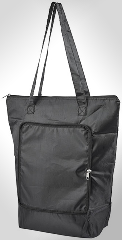 Cool-Down Zippered Foldable Cooler Tote Bag thumbnail