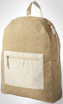 Organ Backpack Made From Jute thumbnail