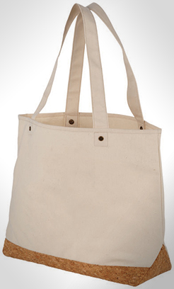 Napa 406 G/M Cotton And Cork Tote Bag thumbnail
