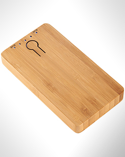 Grove 5000 mAh Bamboo Power Bank thumbnail