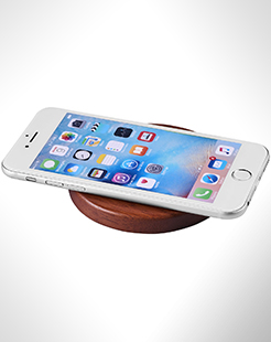 Bora Wooden Wireless Charging Pad thumbnail