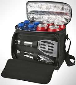 Mill 2-Piece Bbq Set With Cooler Bag thumbnail