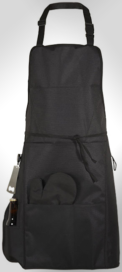 Grill Bbq Apron With Insulated Pocket thumbnail